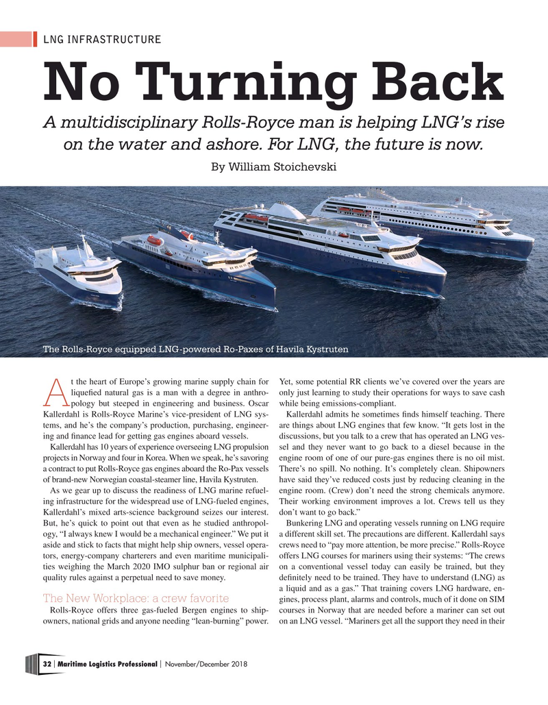 Maritime Logistics Professional Magazine, page 32,  Nov/Dec 2018