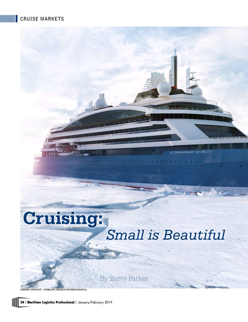 Maritime Logistics Professional Magazine, page 24,  Jan/Feb 2019