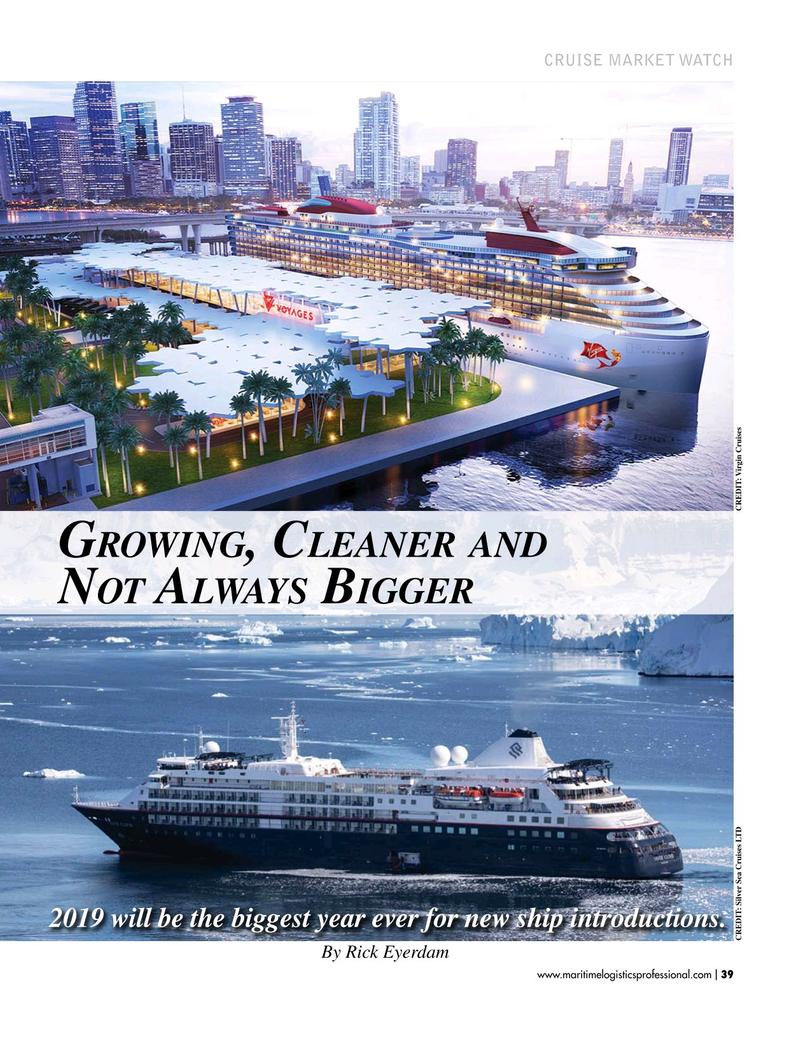Maritime Logistics Professional Magazine, page 39,  Jan/Feb 2019