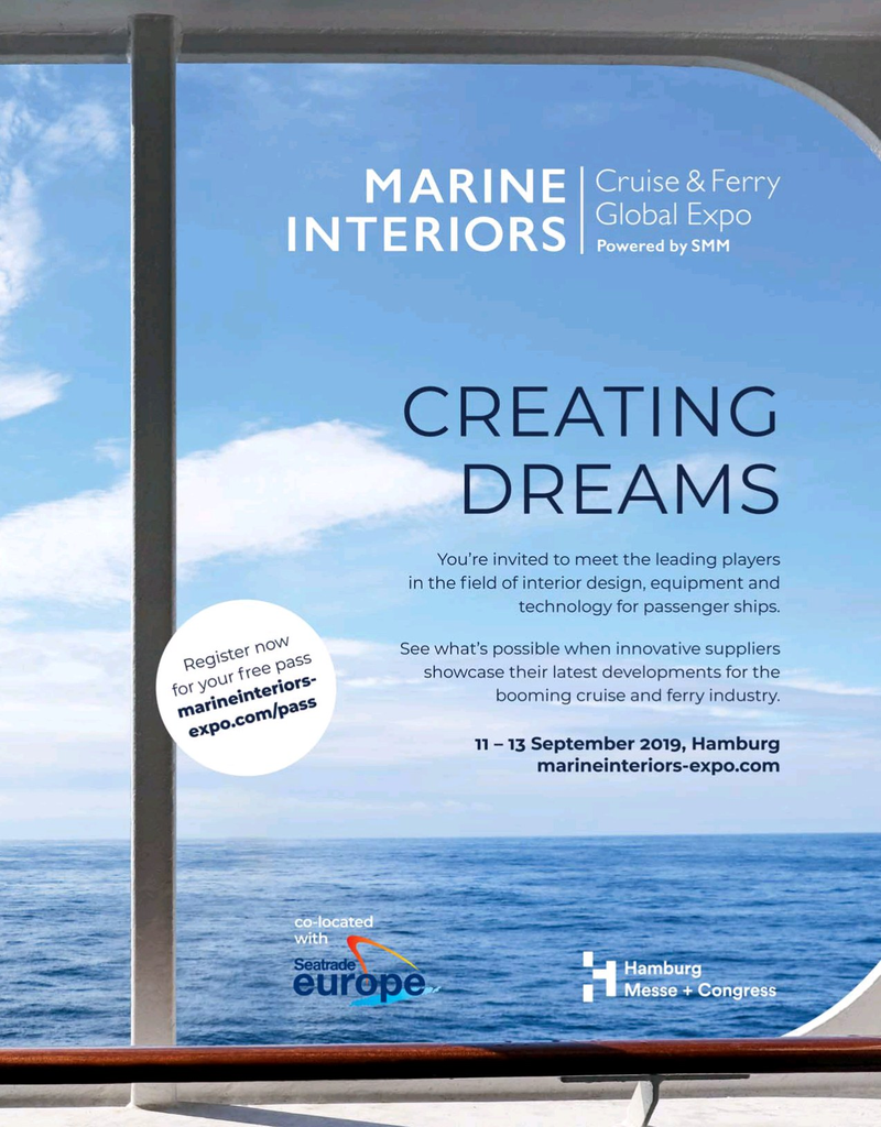 Maritime Logistics Professional Magazine, page 3rd Cover,  May/Jun 2019