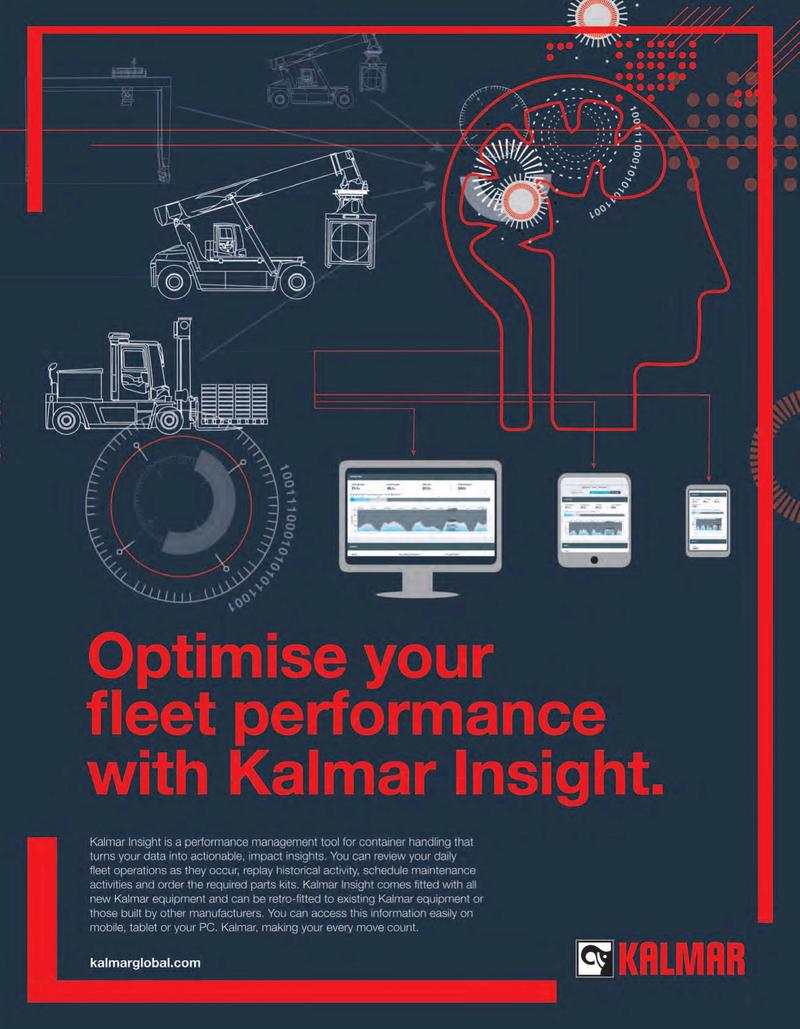 Maritime Logistics Professional Magazine, page 1,  Sep/Oct 2019