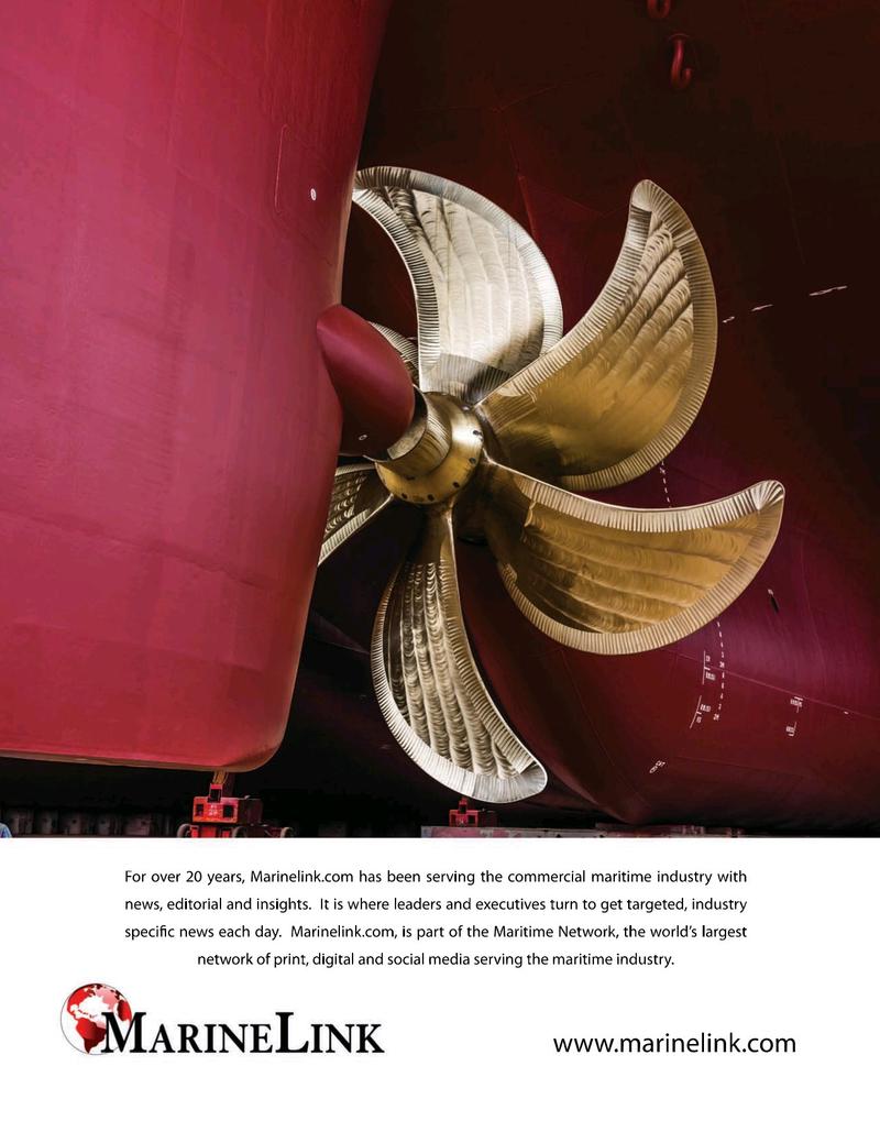 Maritime Logistics Professional Magazine, page 17,  Nov/Dec 2019