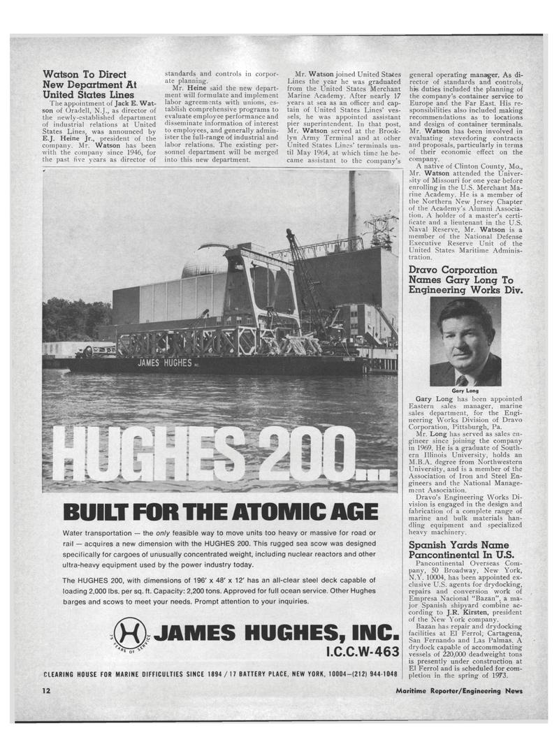 Maritime Reporter Magazine, page 10,  Aug 15, 1971