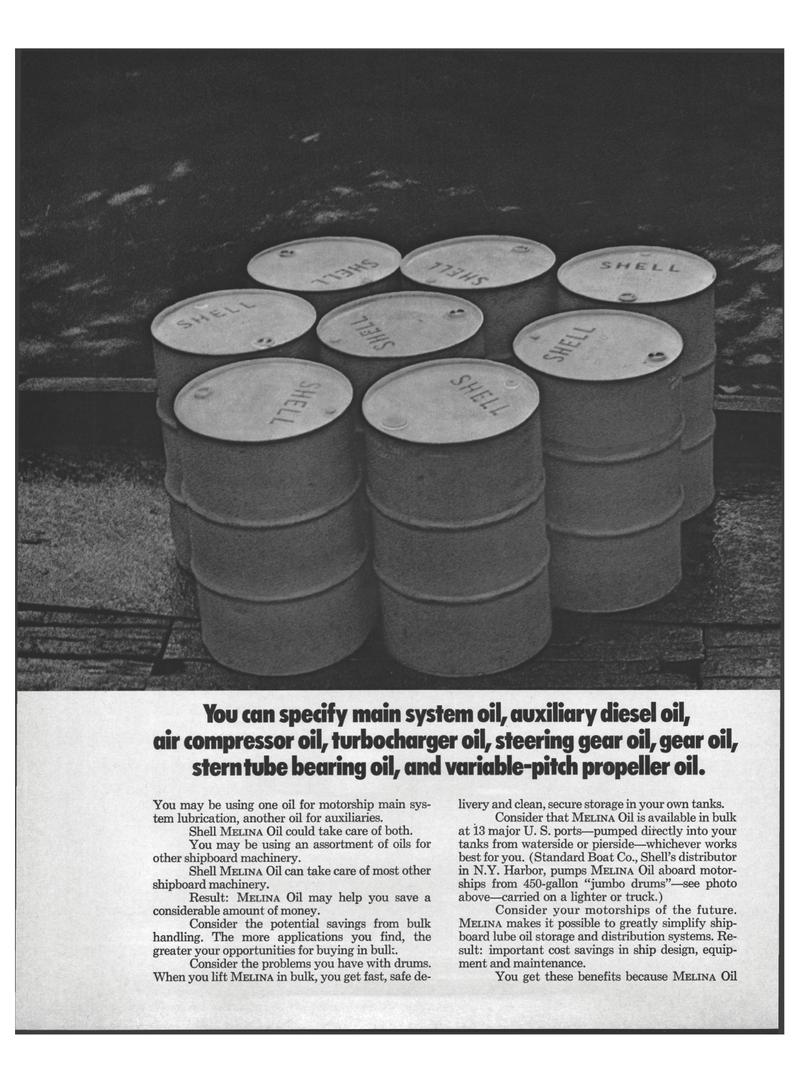Maritime Reporter Magazine, page 14,  Aug 15, 1971