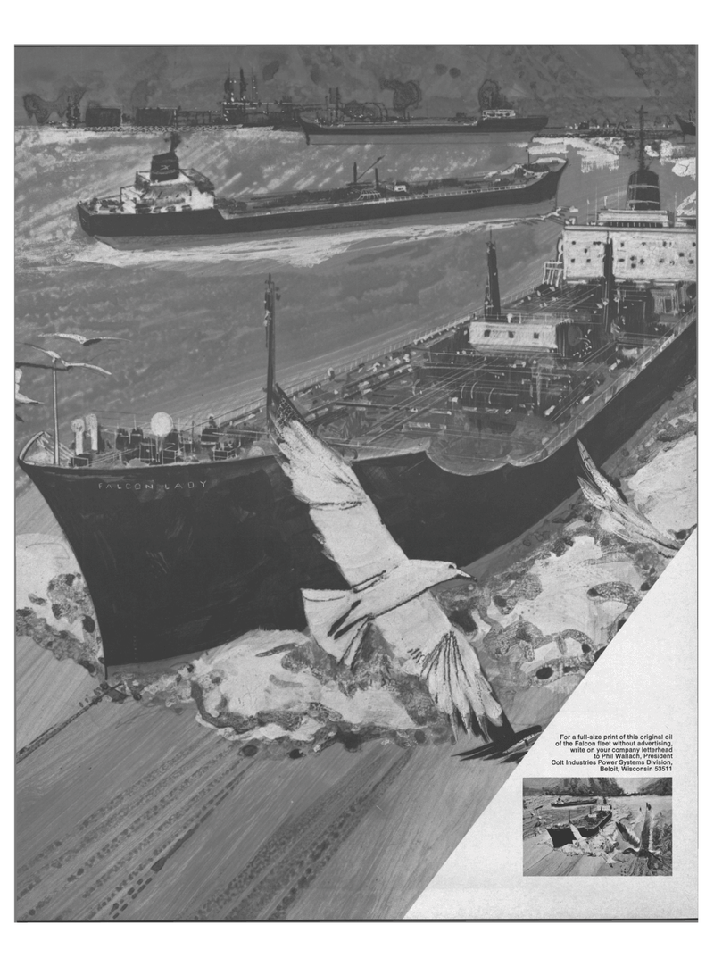 Maritime Reporter Magazine, page 18,  Aug 15, 1971 Colt Industries Power Systems Division