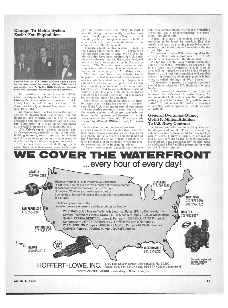 Hawaii, Maritime Reporter Magazine March 1973 #33