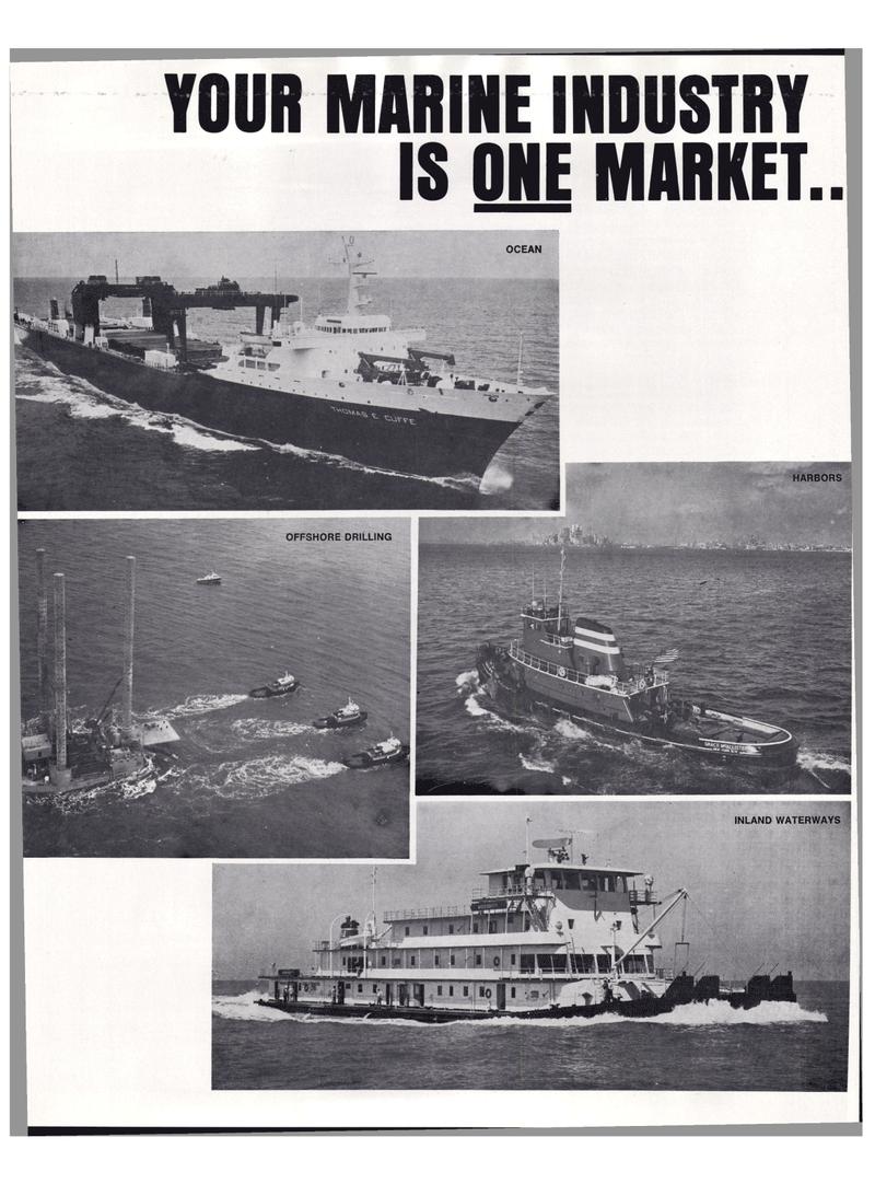 Maritime Reporter Magazine, page 16,  Mar 1974