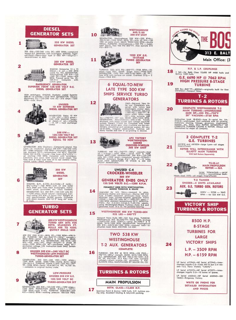 Maritime Reporter Magazine, page 26,  Mar 1974 C3