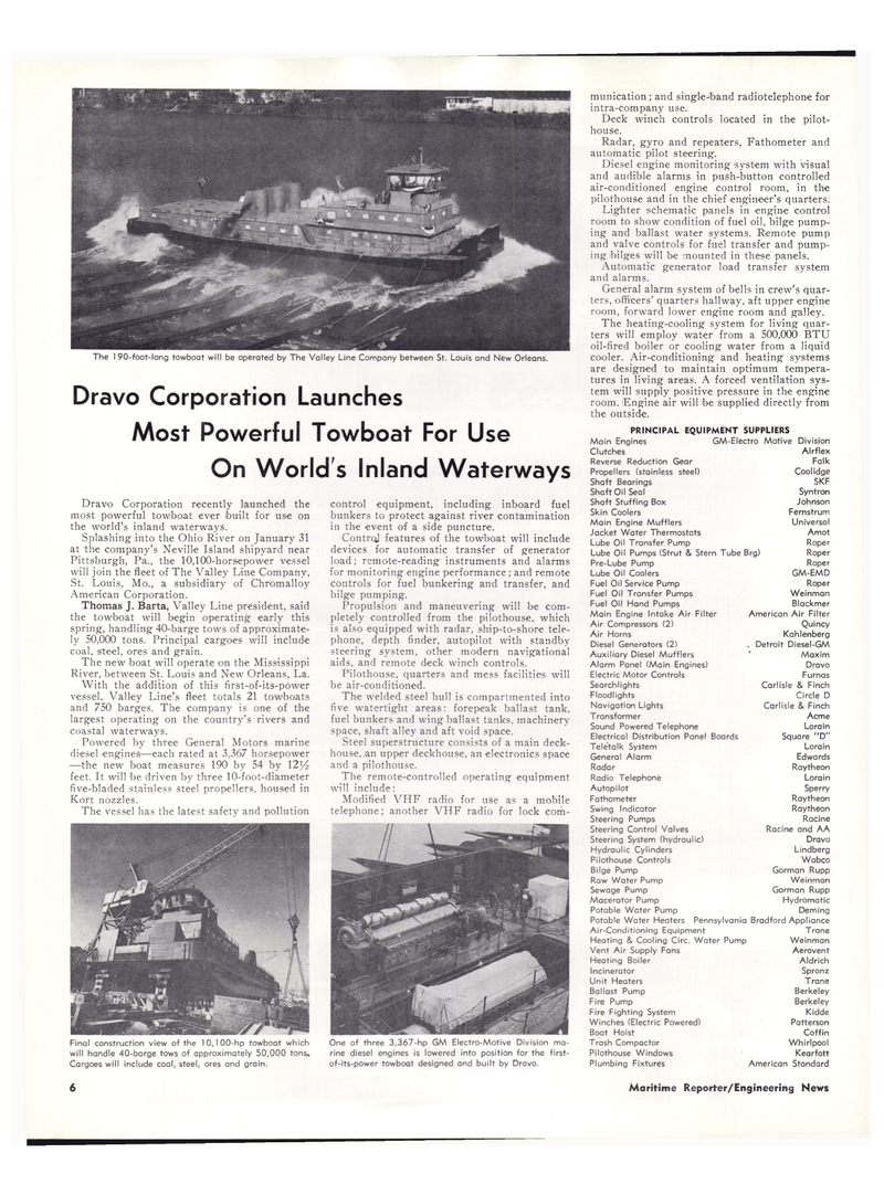 Maritime Reporter Magazine, page 4,  Mar 1974