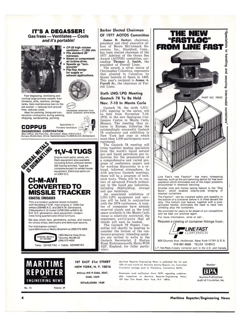 Maritime Reporter Magazine, page 2,  Jun 15, 1977