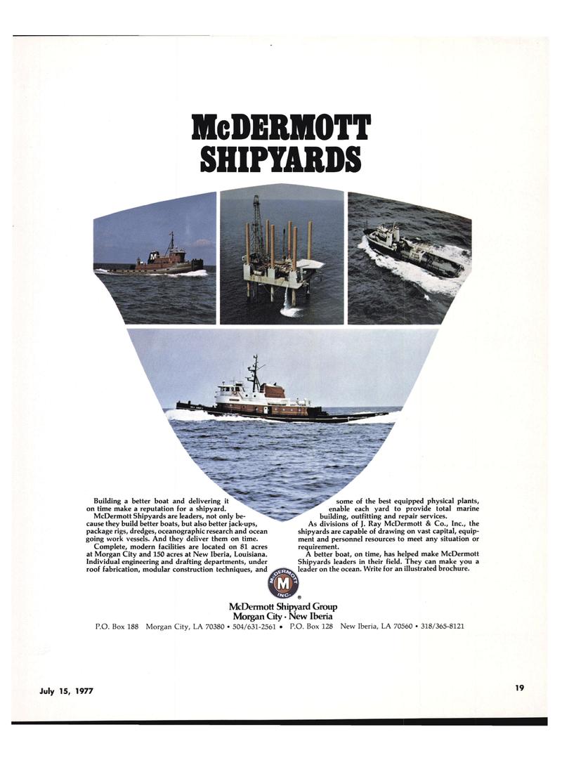 Maritime Reporter Magazine, page 17,  Jul 15, 1977