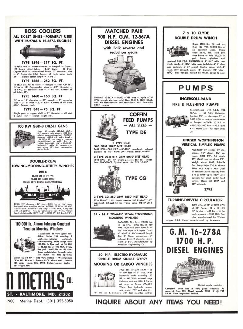 Maritime Reporter Magazine, page 29,  Jul 15, 1977