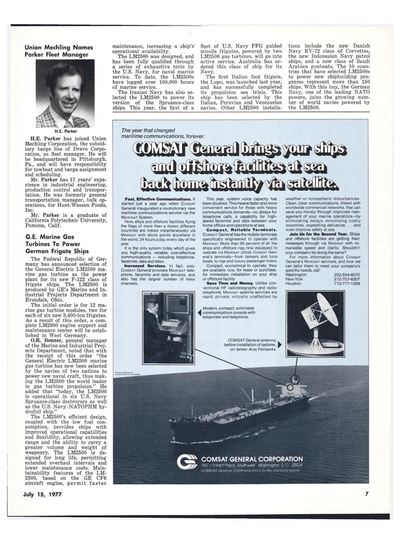 Maritime Reporter Magazine, page 5,  Jul 15, 1977