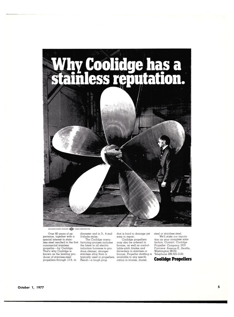 Maritime Reporter Magazine, page 5,  Oct 1977
