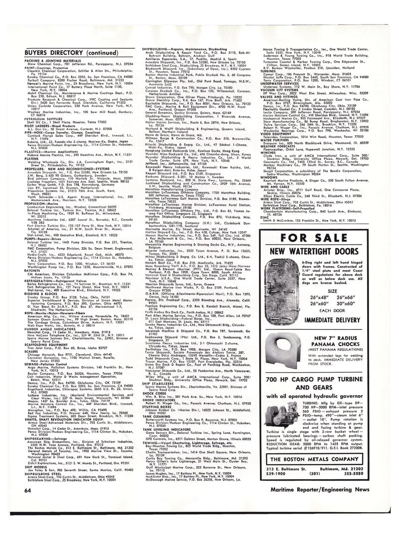 Maritime Reporter Magazine, page 60,  Oct 15, 1977