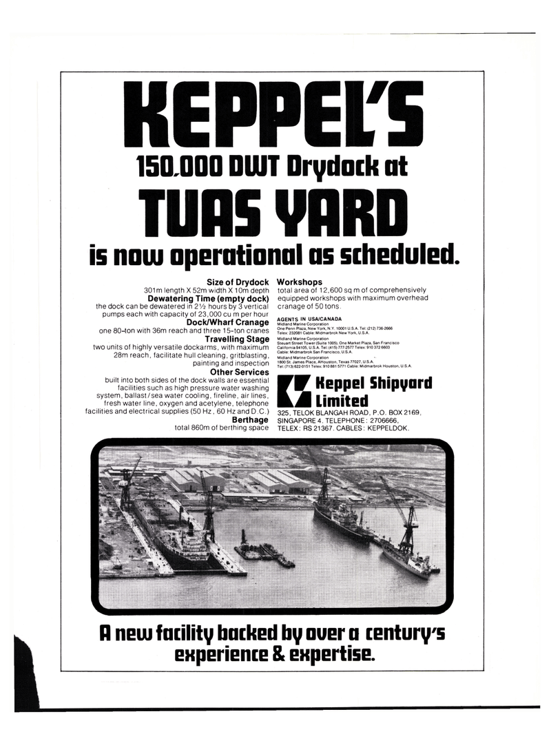 Maritime Reporter Magazine, page 3rd Cover,  Oct 15, 1977