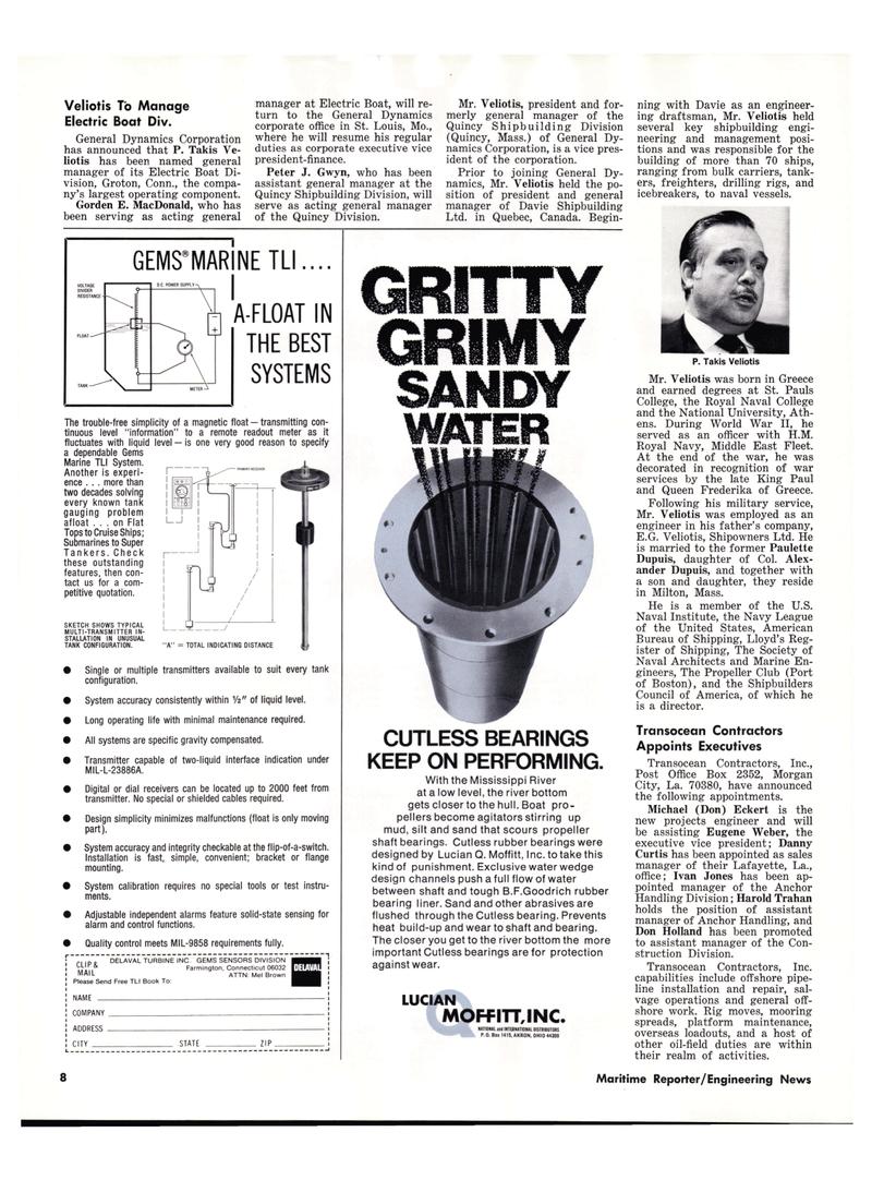 Maritime Reporter Magazine, page 6,  Nov 15, 1977 Quebec