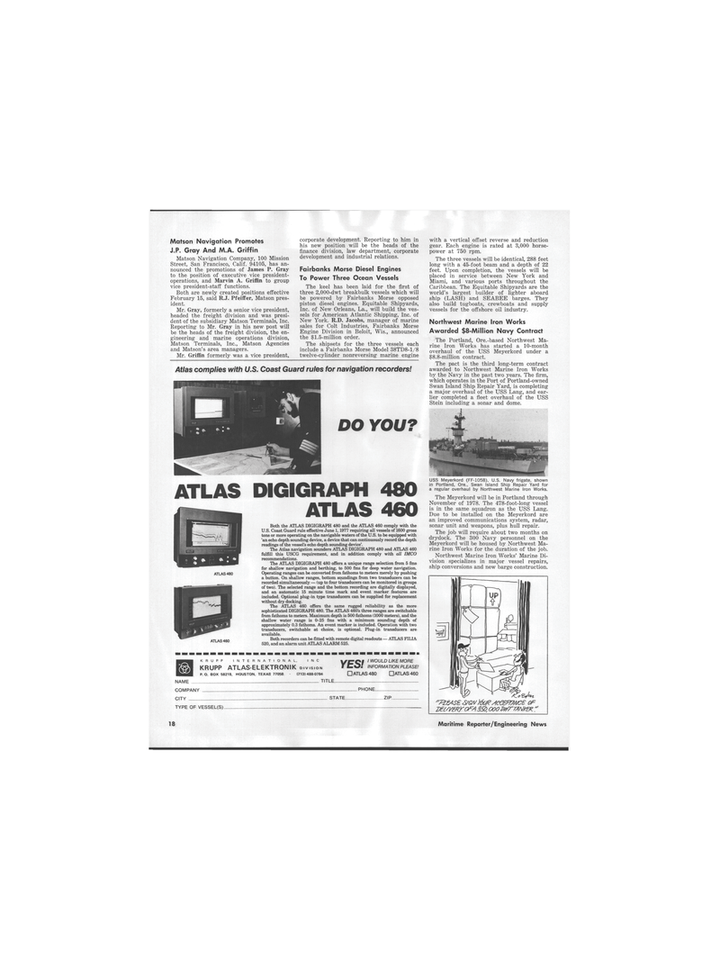 Maritime Reporter Magazine, page 16,  Mar 1978 Texas