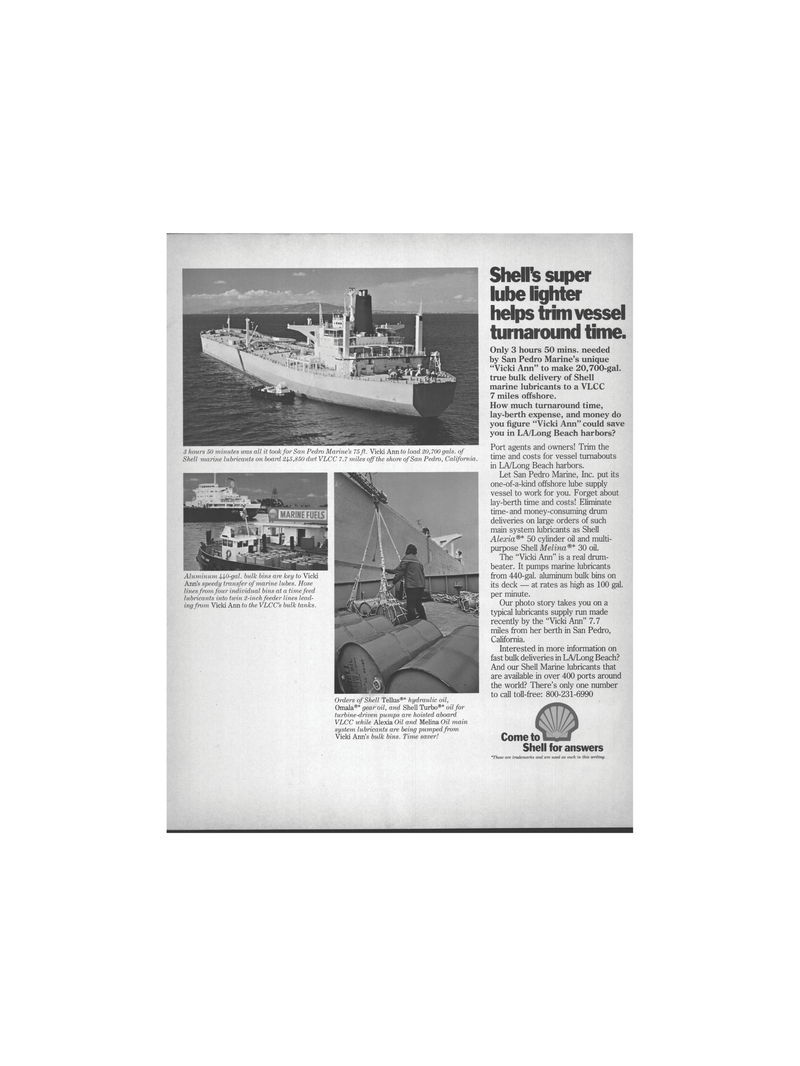 Maritime Reporter Magazine, page 23,  Mar 1978 hydraulic oil