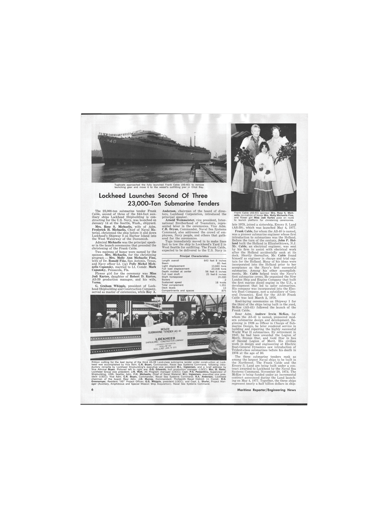 Maritime Reporter Magazine, page 4,  Mar 1978 New Jersey
