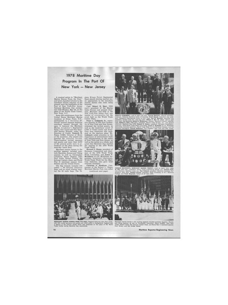 Maritime Reporter Magazine, page 12,  Jul 1978 Frank Braynard