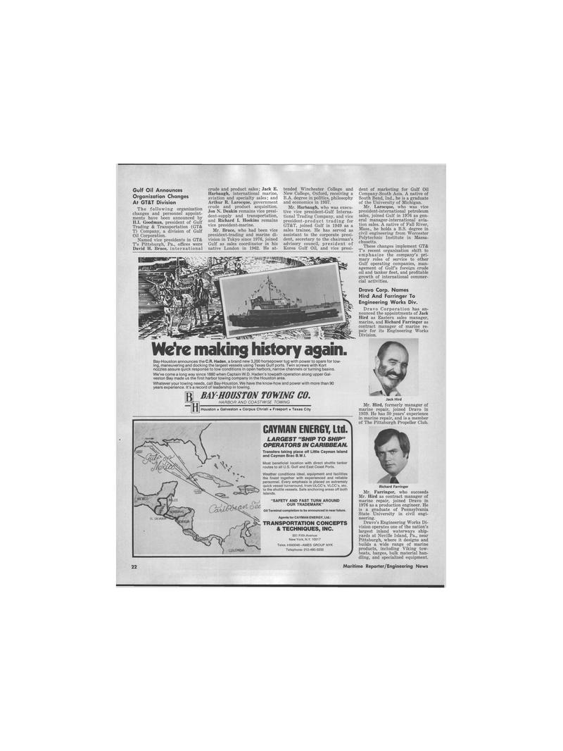 Maritime Reporter Magazine, page 18,  Jul 1978 New York