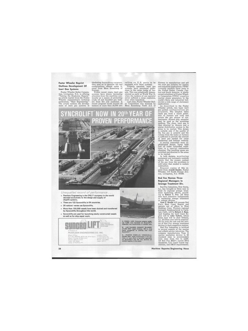 Maritime Reporter Magazine, page 3rd Cover,  Jul 1978 California