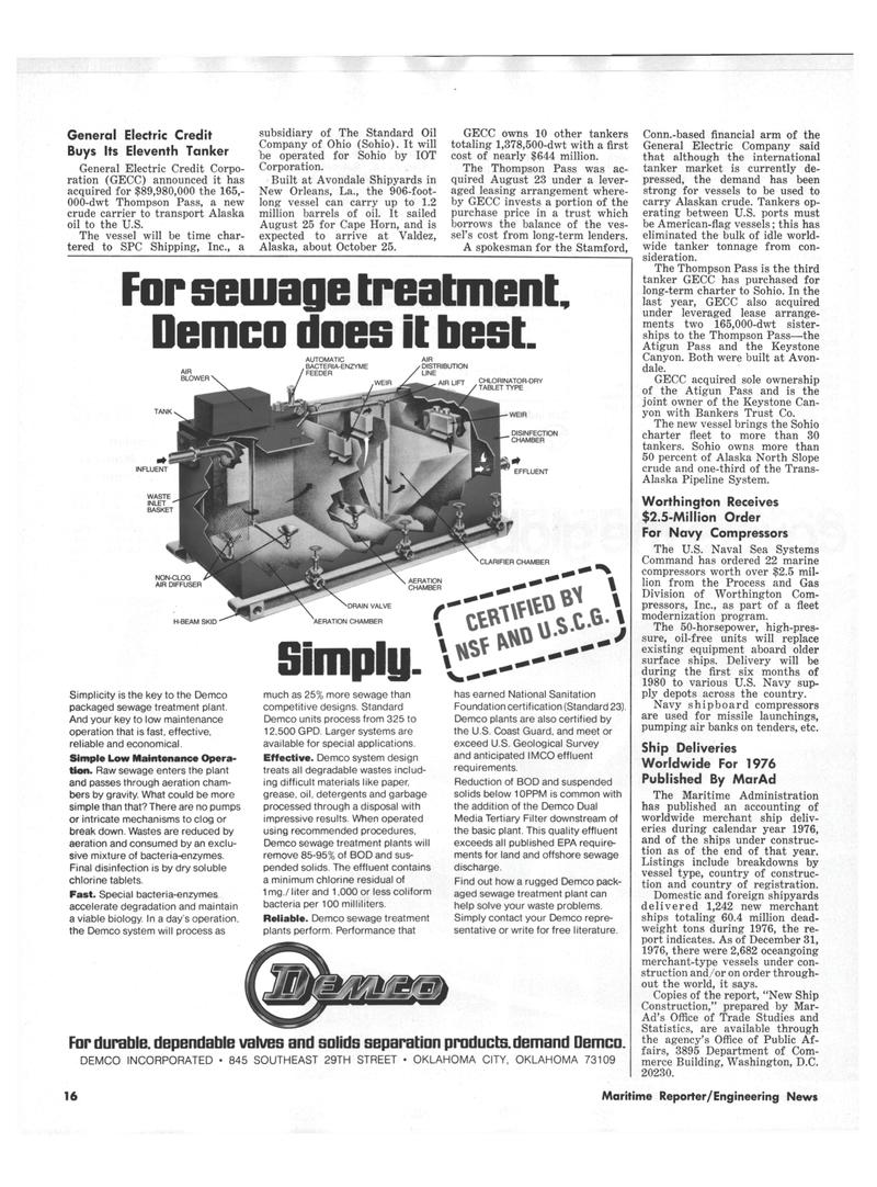 Maritime Reporter Magazine, page 12,  Oct 1978 Ohio