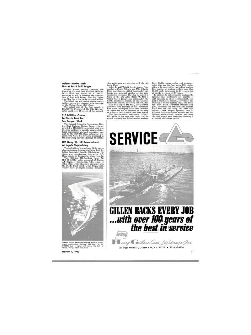 Maritime Reporter Magazine, page 19,  Jan 1980 New Hampshire