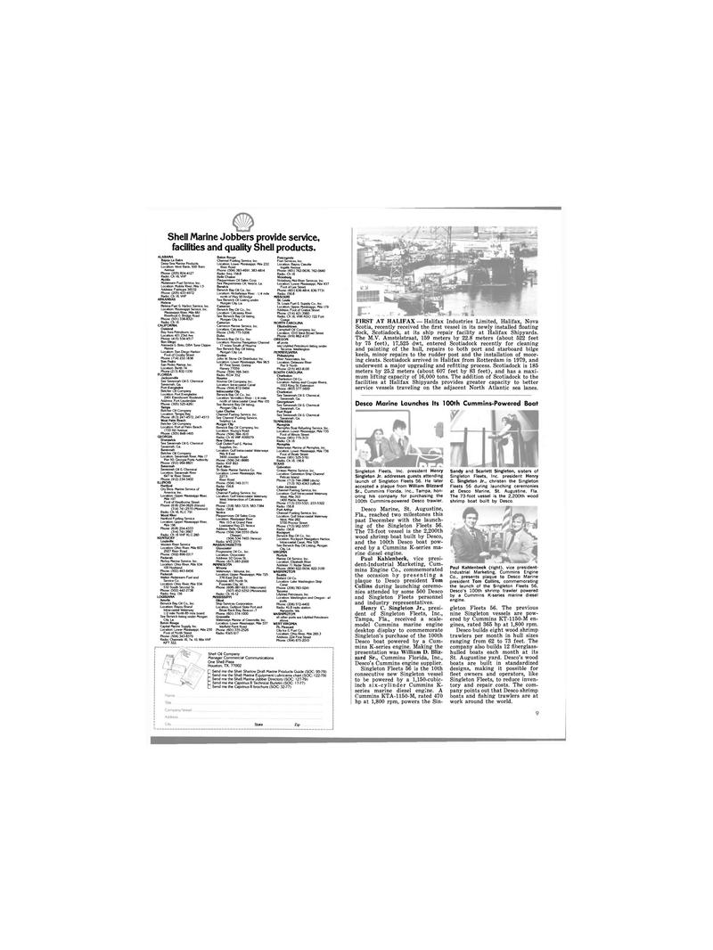 Maritime Reporter Magazine, page 7,  Jan 15, 1980 the Caprinus R Technical Bulletin