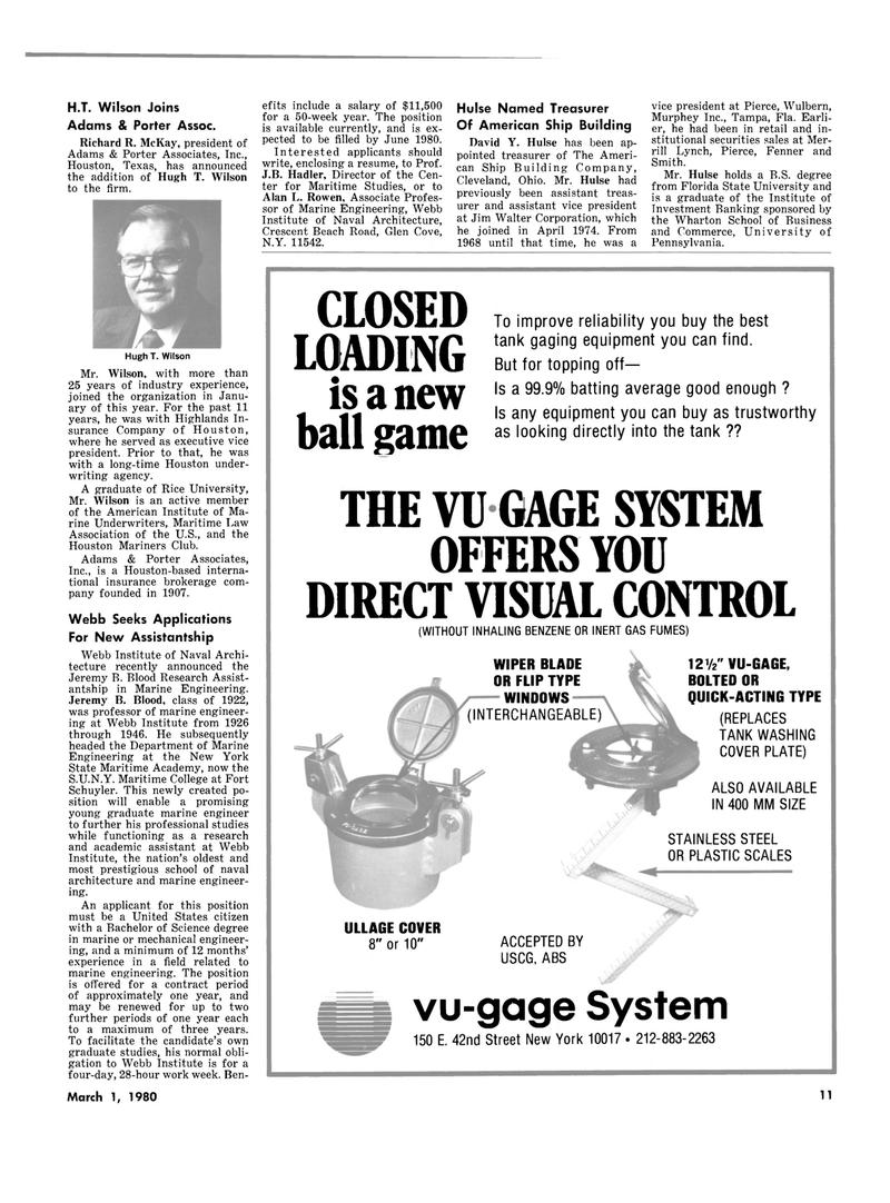 Maritime Reporter Magazine, page 9,  Mar 1980 Pennsylvania