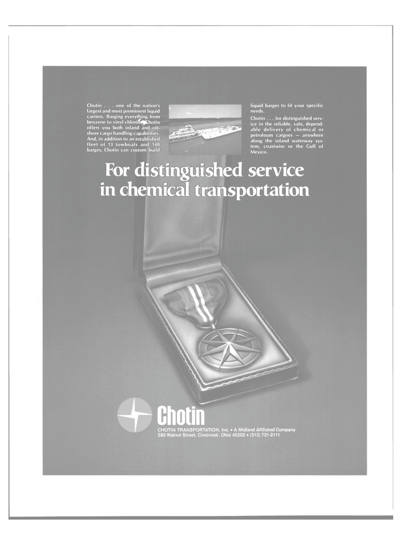 Maritime Reporter Magazine, page 11,  Mar 1980 chemical transportation