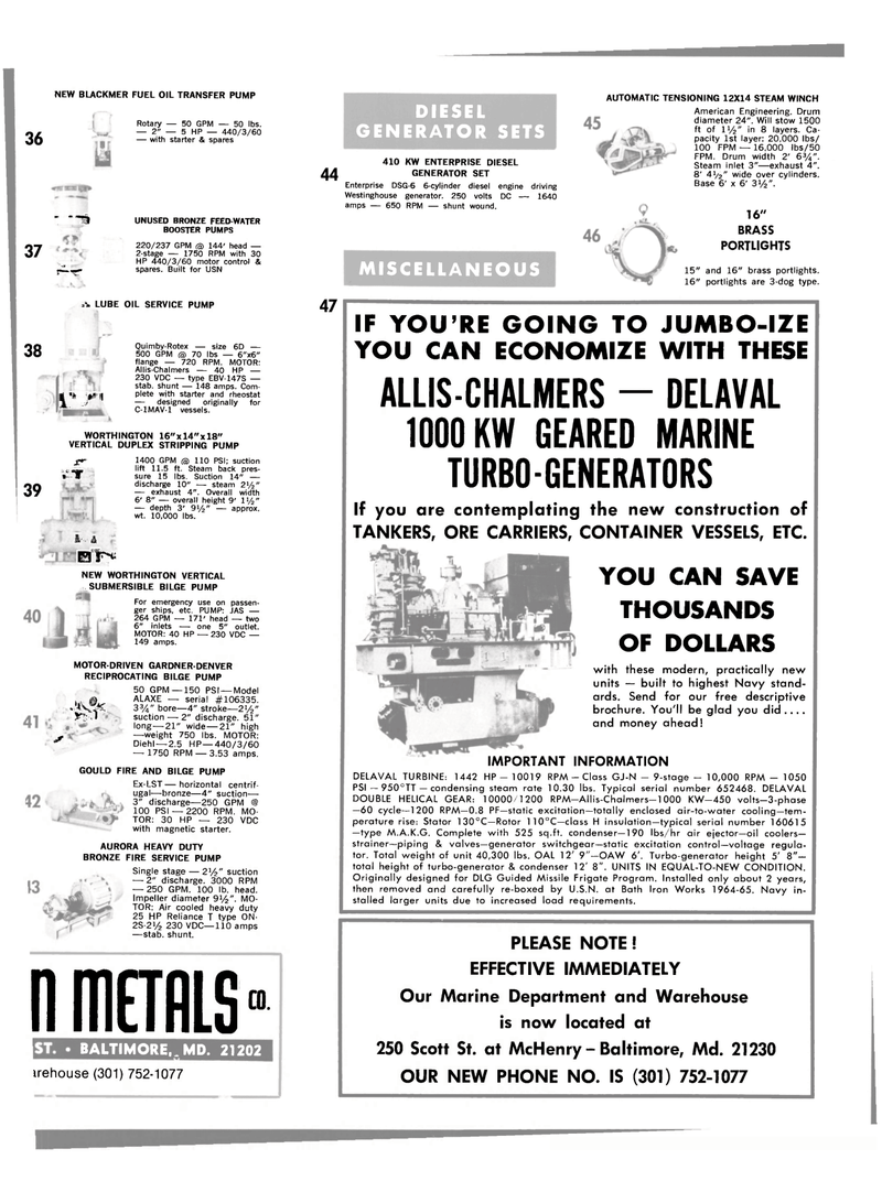 Maritime Reporter Magazine, page 19,  Mar 1980 rriETRLS CO.