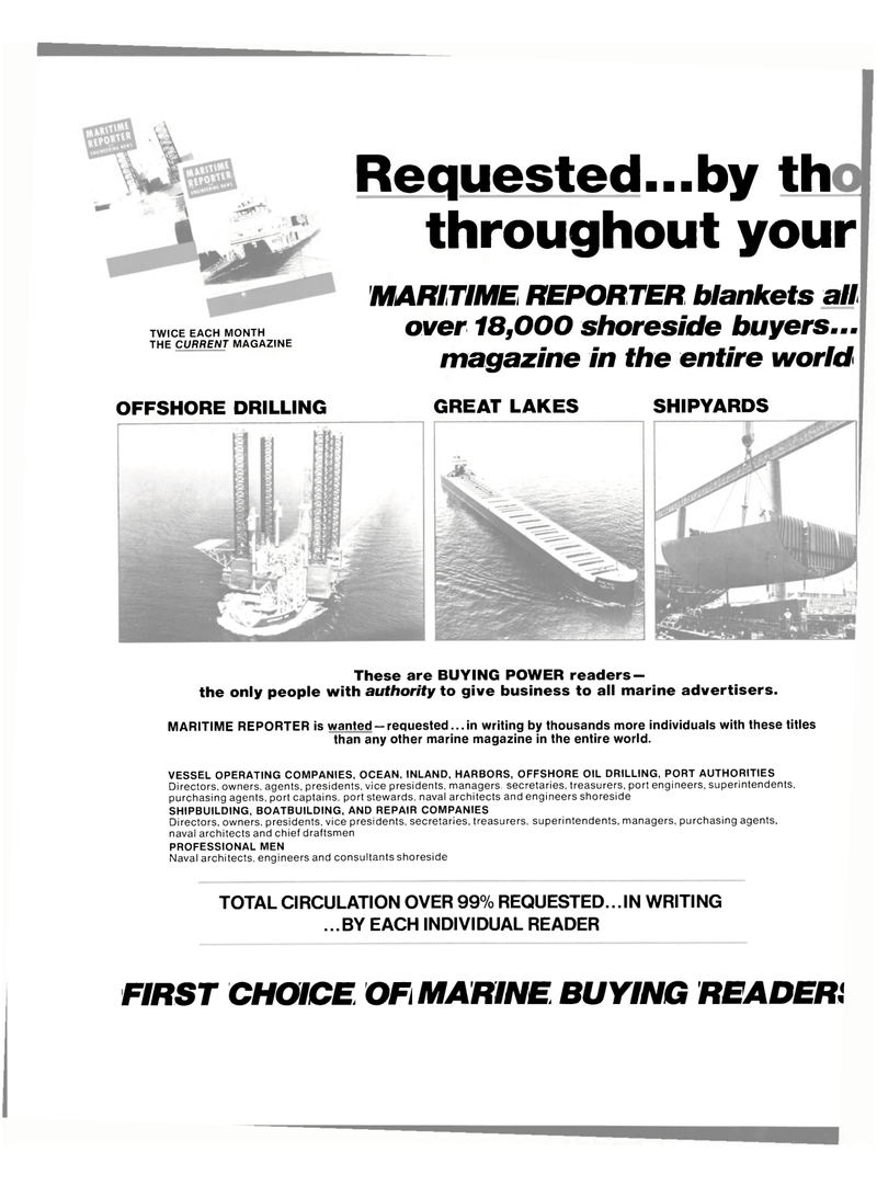 Maritime Reporter Magazine, page 20,  Mar 1980 PORT AUTHORITIES Directors