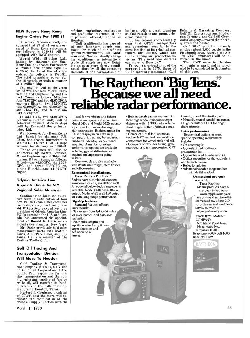 Maritime Reporter Magazine, page 25,  Mar 1980 Pennsylvania