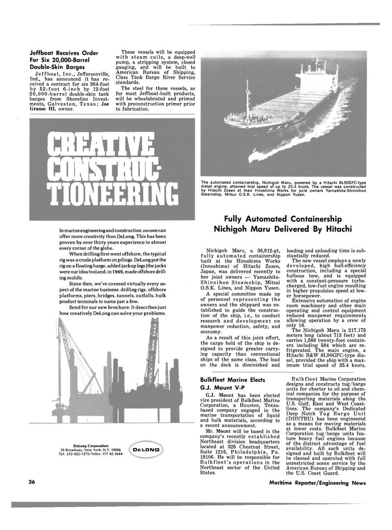 Maritime Reporter Magazine, page 26,  Mar 1980 Pennsylvania