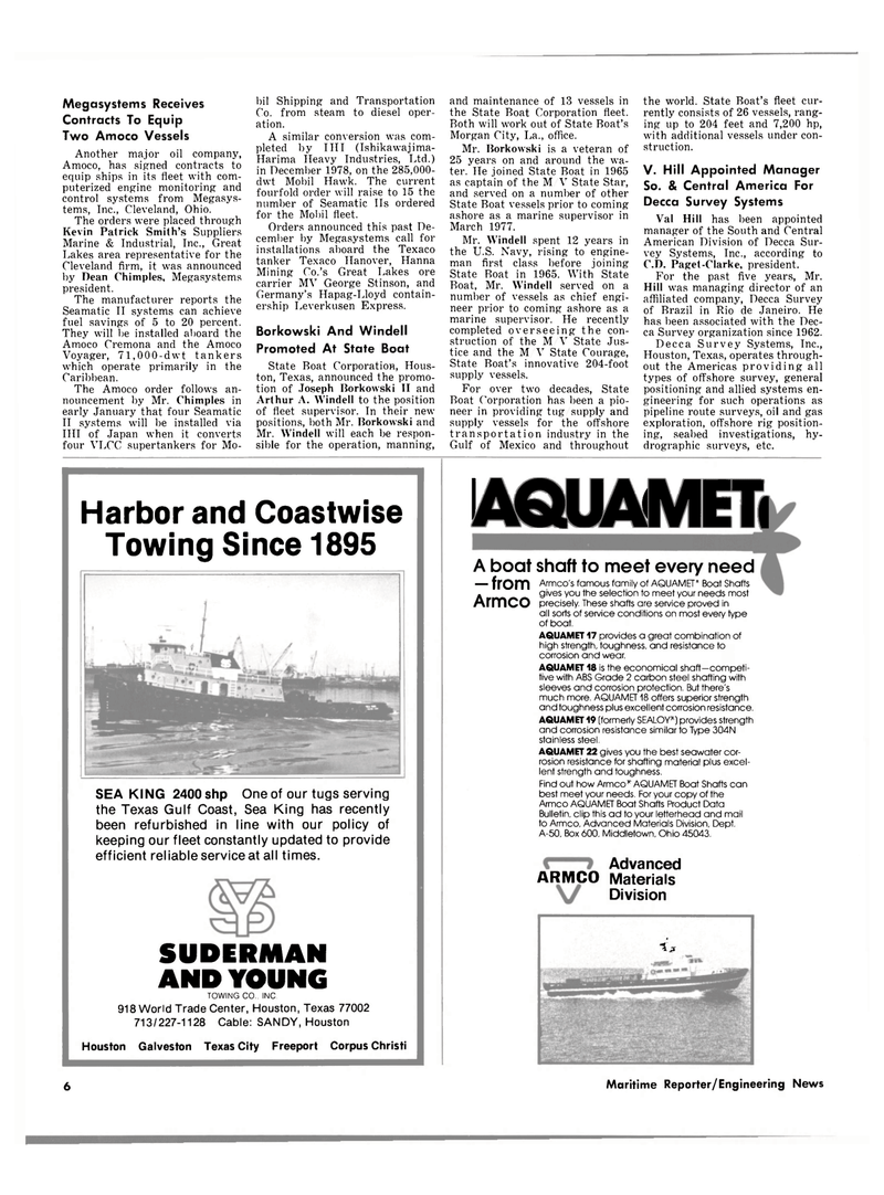 Maritime Reporter Magazine, page 4,  Mar 1980 Gulf of Mexico