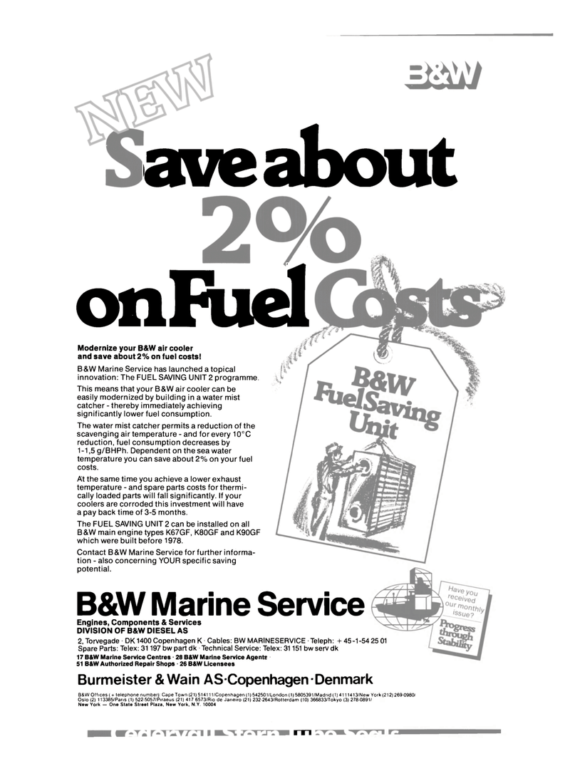 Maritime Reporter Magazine, page 21,  Mar 15, 1980
