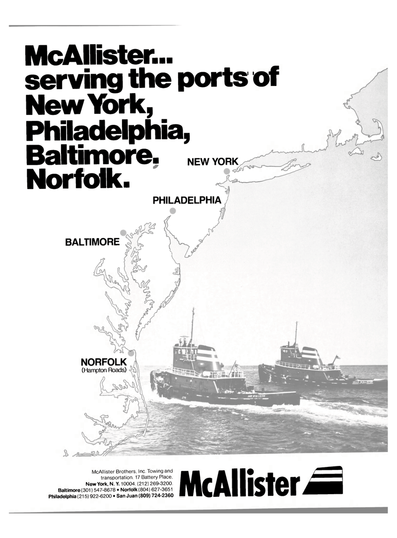 Maritime Reporter Magazine, page 1,  May 15, 1980