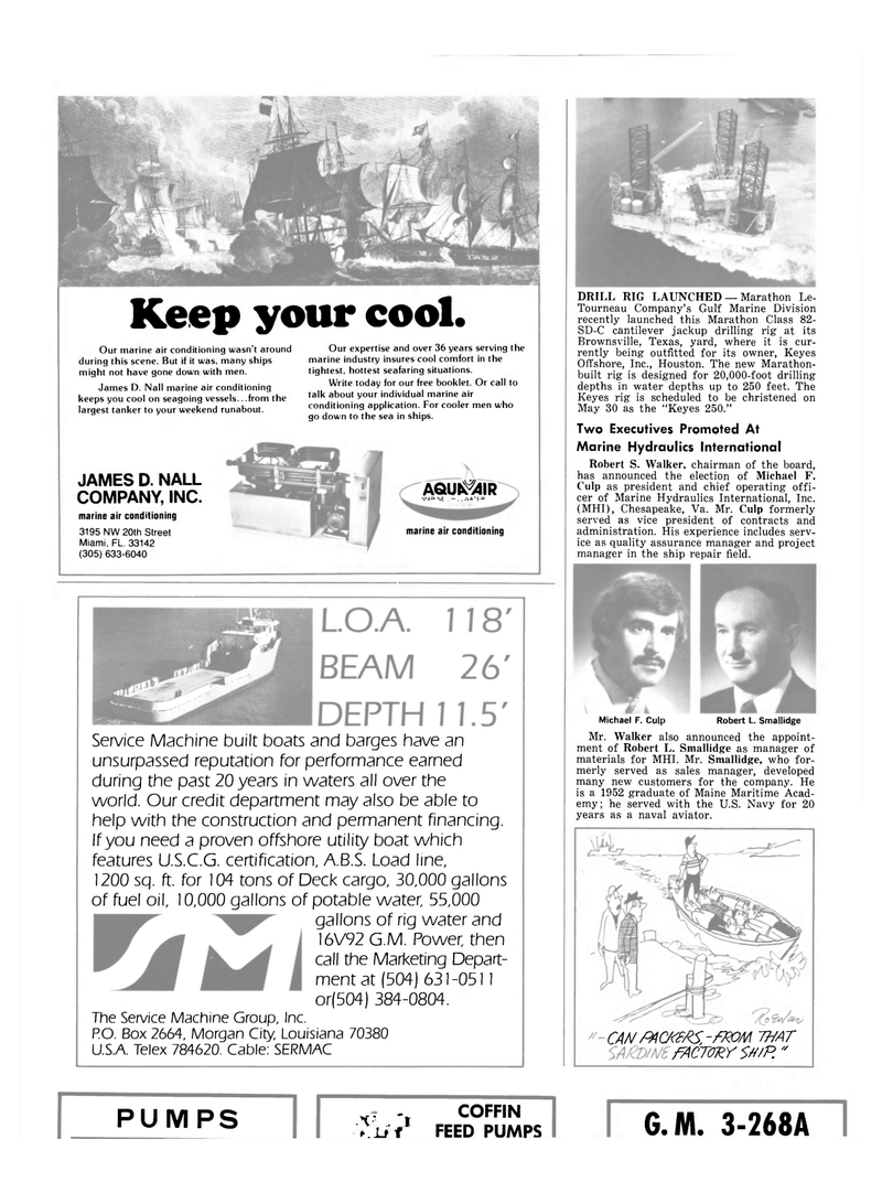 Maritime Reporter Magazine, page 30,  May 15, 1980