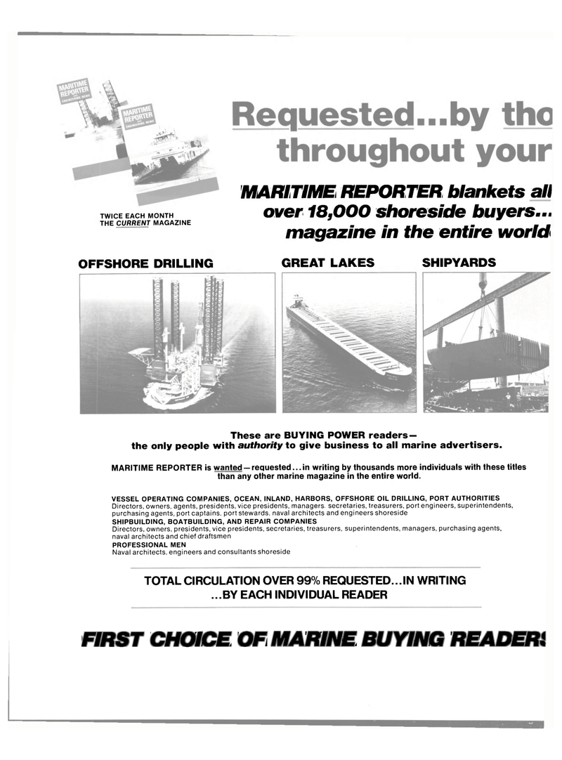 Maritime Reporter Magazine, page 4th Cover,  May 15, 1980