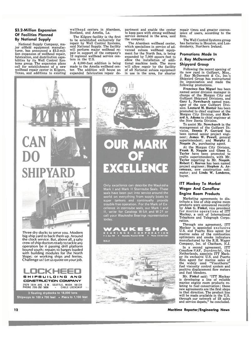 Maritime Reporter Magazine, page 10,  Jul 1980 New Jersey