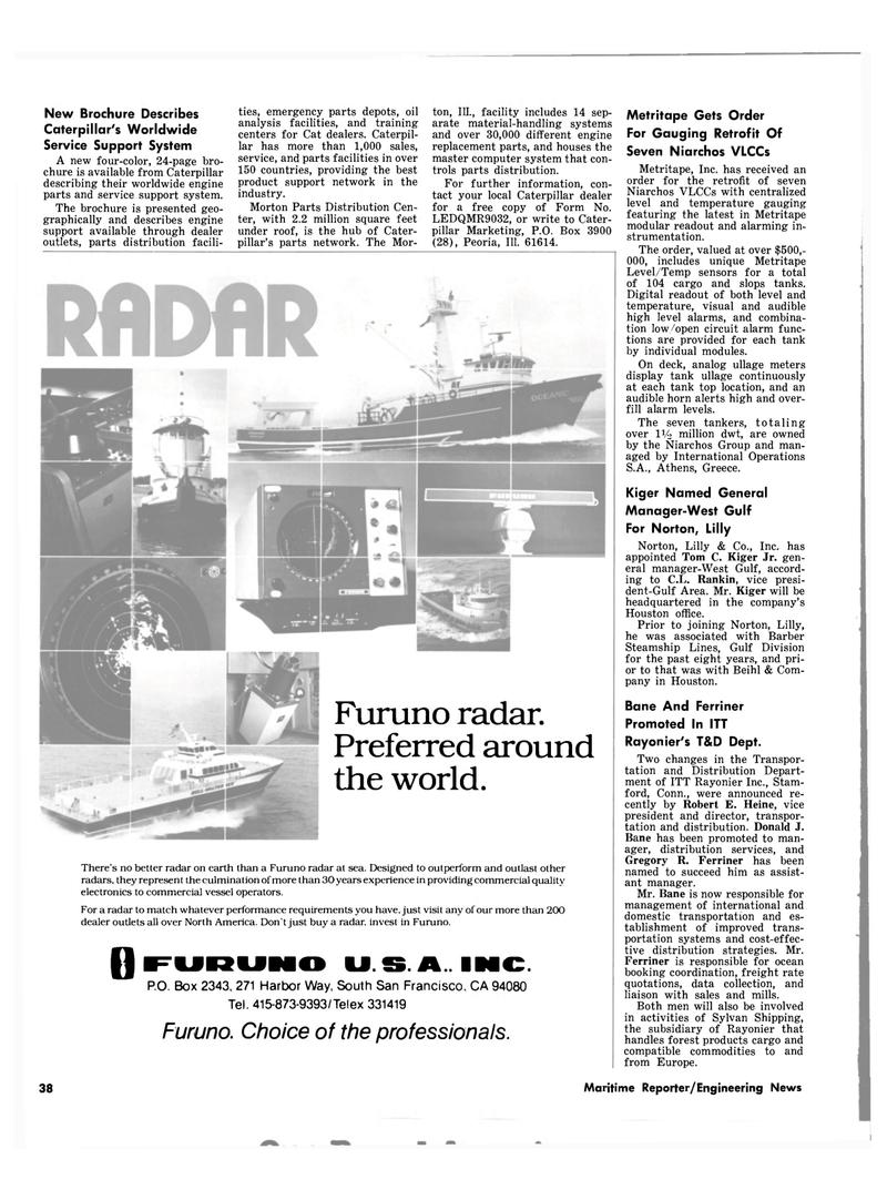Maritime Reporter Magazine, page 38,  Jul 1980 Morton Parts