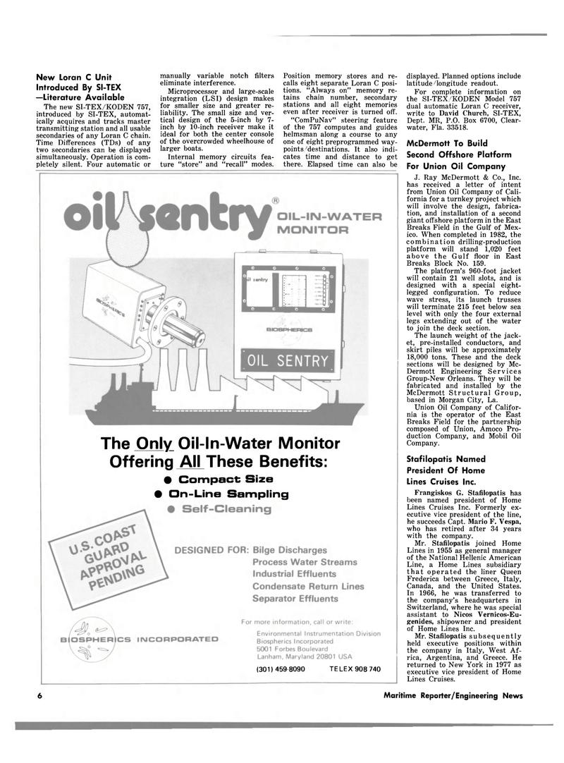 Maritime Reporter Magazine, page 4,  Jul 1980 Amoco Pro