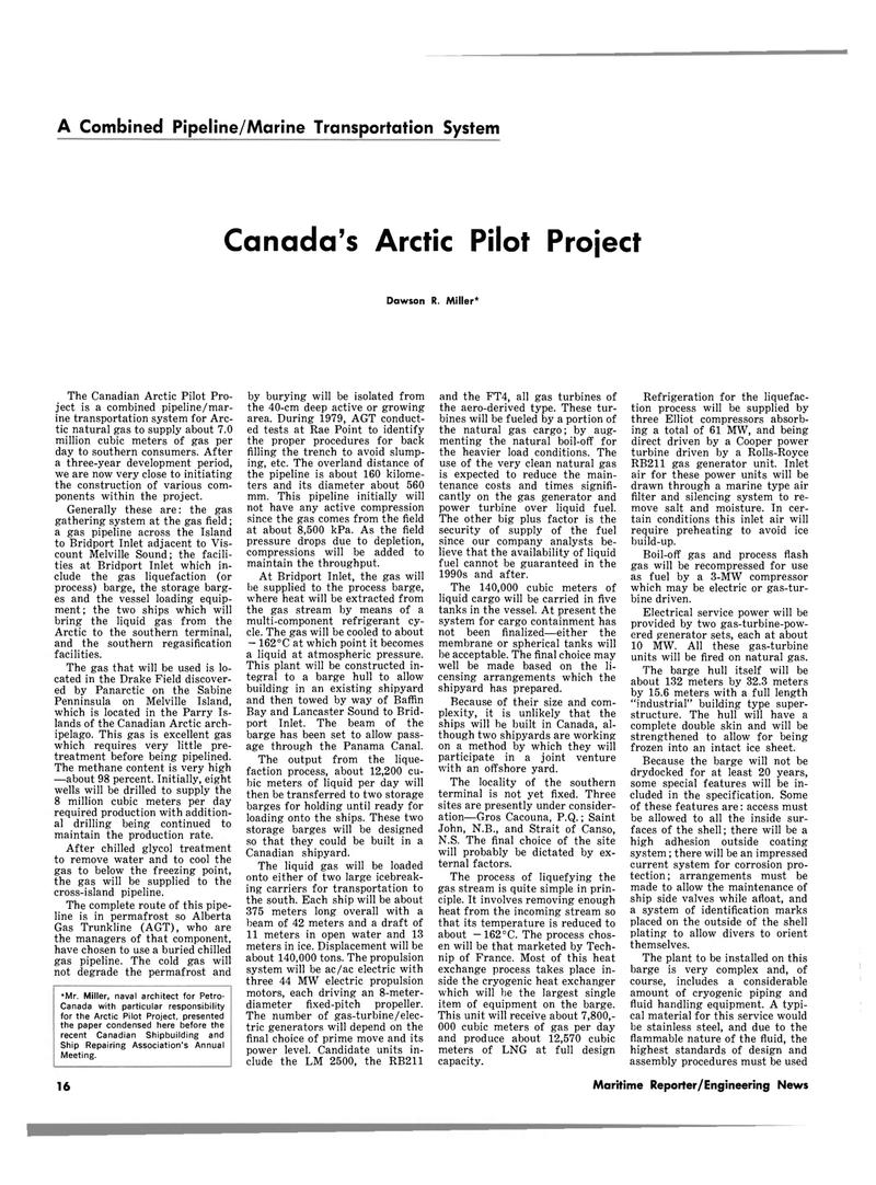 Maritime Reporter Magazine, page 14,  Jul 15, 1980 Nova Scotia