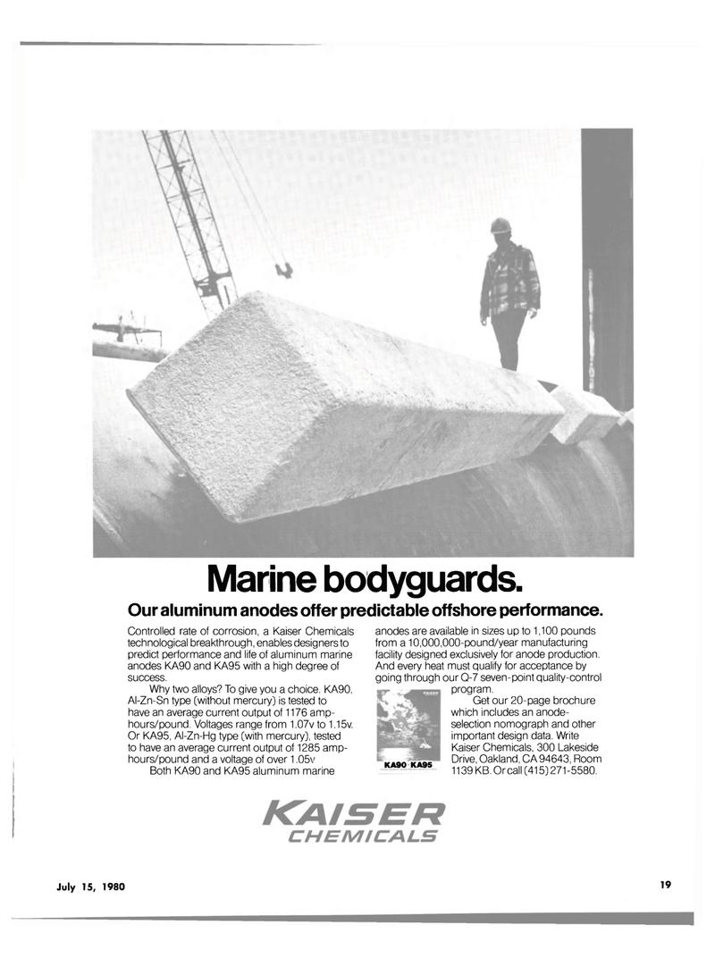 Maritime Reporter Magazine, page 17,  Jul 15, 1980 manufacturing facility