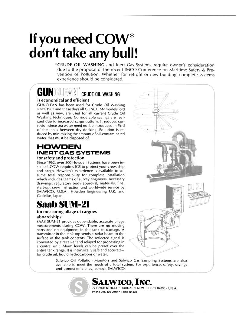 Maritime Reporter Magazine, page 2nd Cover,  Jul 15, 1980 crude oil