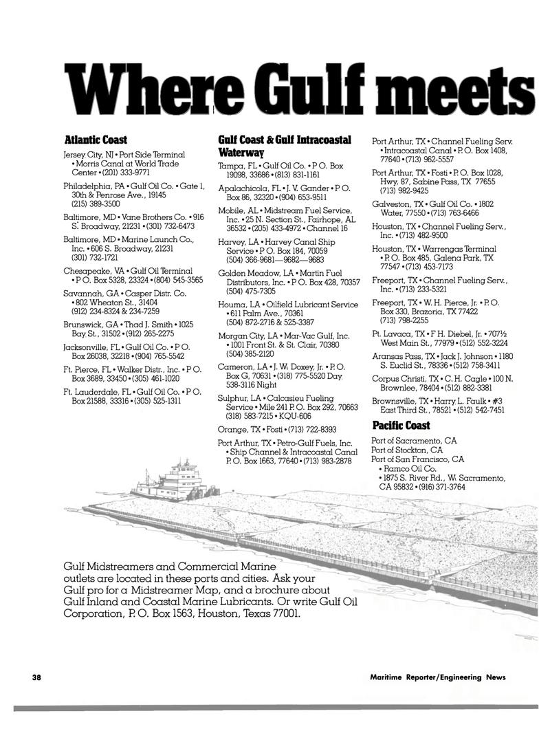 Maritime Reporter Magazine, page 38,  Jul 15, 1980 Walker Distr
