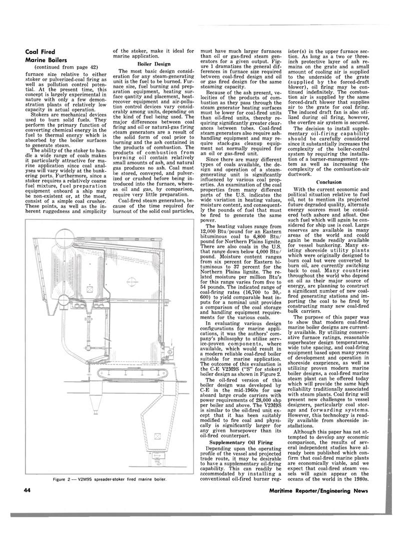 Maritime Reporter Magazine, page 42,  Aug 1980