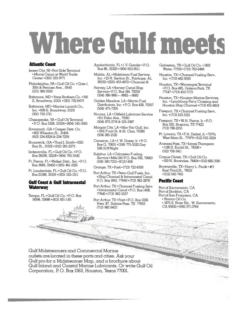 Maritime Reporter Magazine, page 10,  Oct 15, 1980 James Thompson